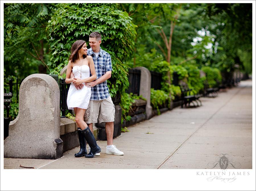 NYC weddings photographer new york city engagement portraits
