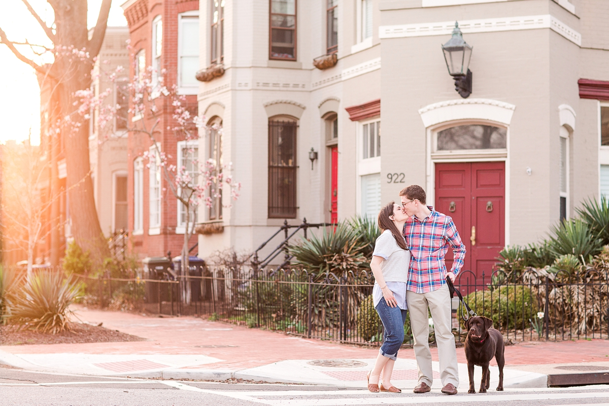 Neighborhood Capital Hill Engagement Pictures DC Wedding Photo_9474