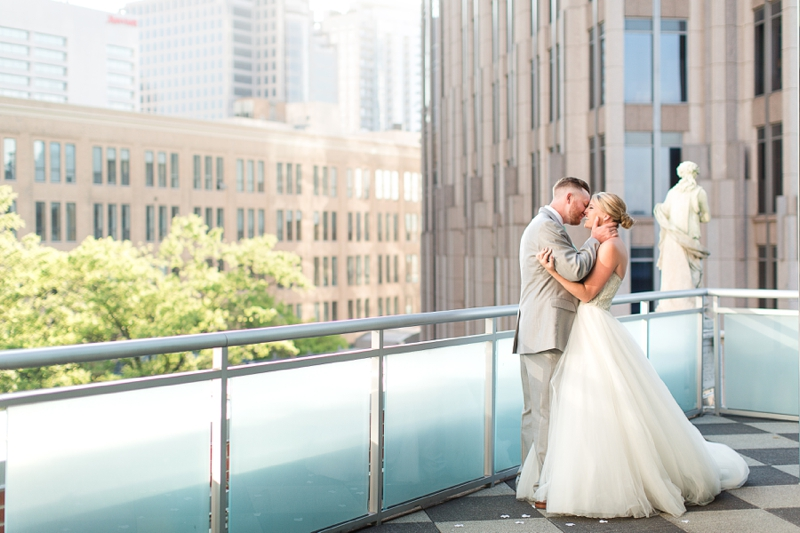 Rooftop Wedding at The Foundation for the Carolina's Charlotte, NC Photos_0710