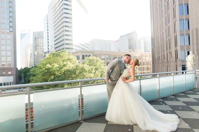 Rooftop Wedding at The Foundation for the Carolina's Charlotte, NC Photos_0795