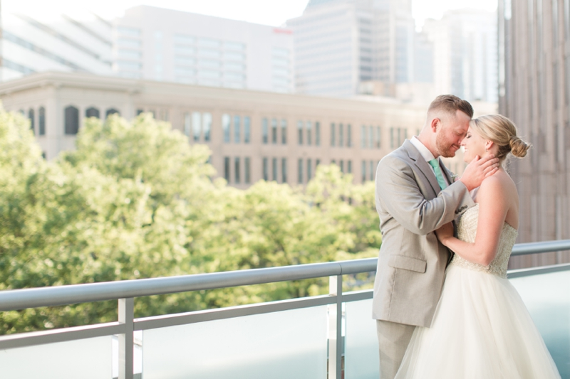 Rooftop Wedding at The Foundation for the Carolina's Charlotte, NC Photos_0797
