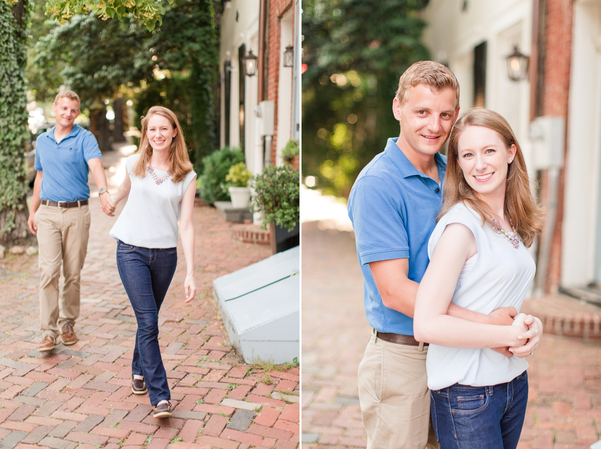 Downtown Alexandria Engagement Pictures on the Water with Lighthouse Photos_1505
