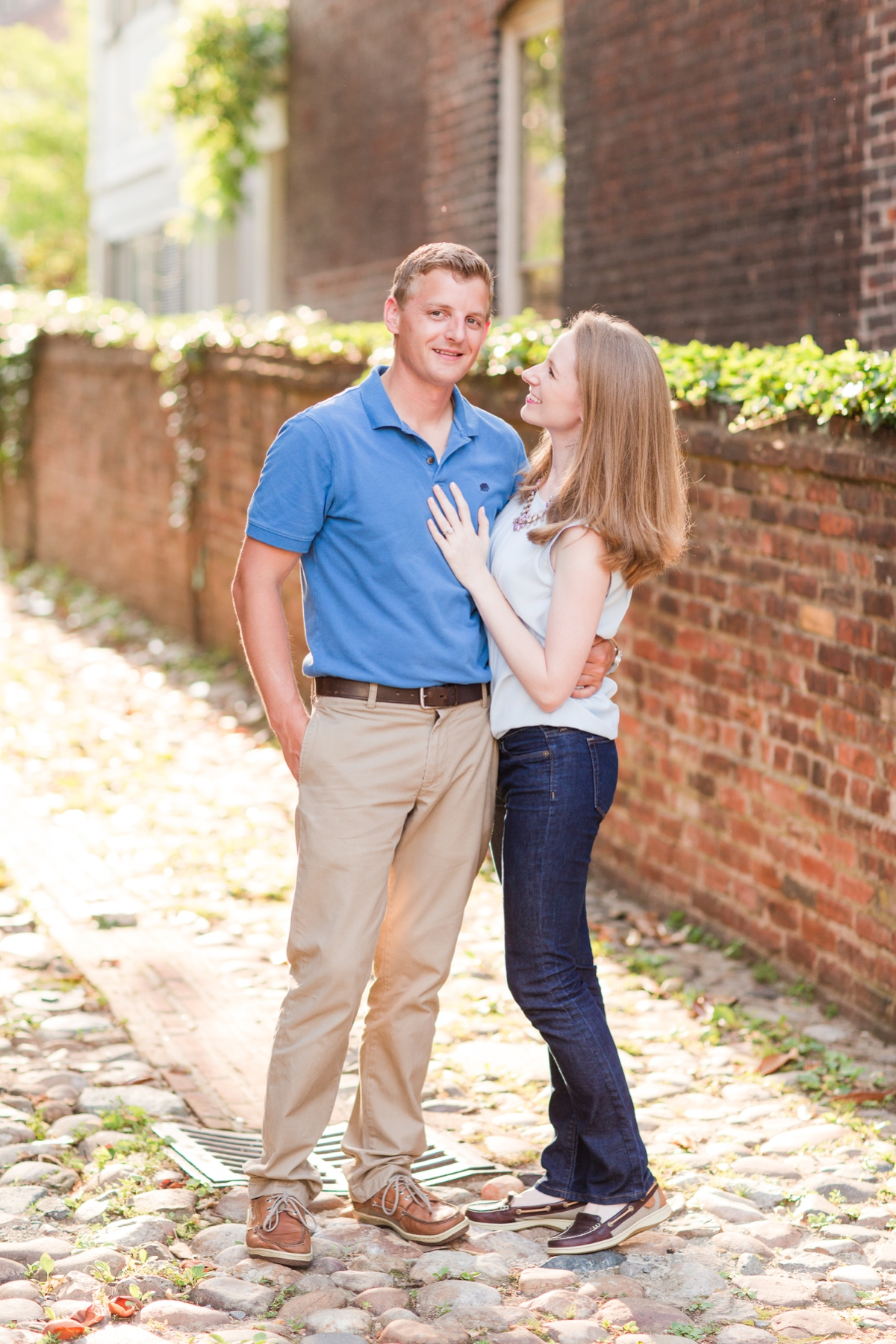 Downtown Alexandria Engagement Pictures on the Water with Lighthouse Photos_1518