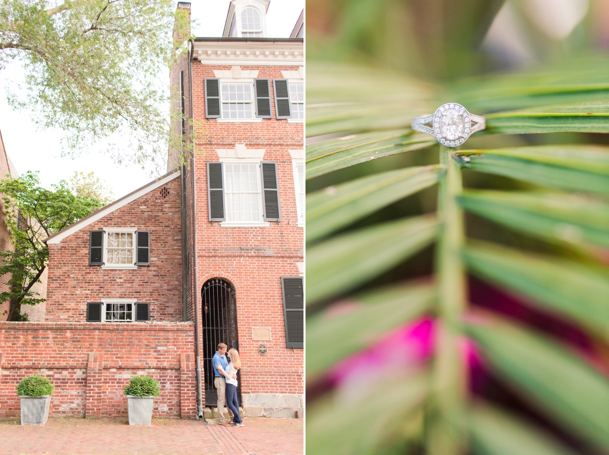 Downtown Alexandria Engagement Pictures on the Water with Lighthouse Photos_1527