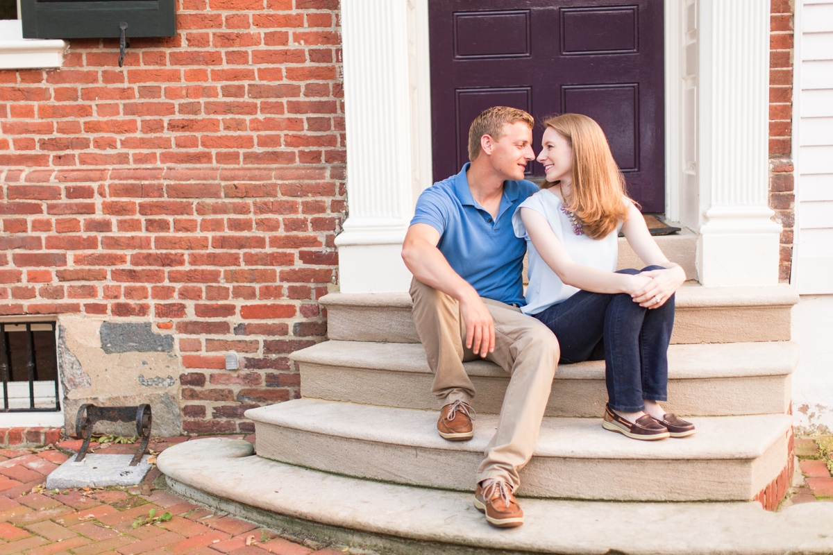 Downtown Alexandria Engagement Pictures on the Water with Lighthouse Photos_1528