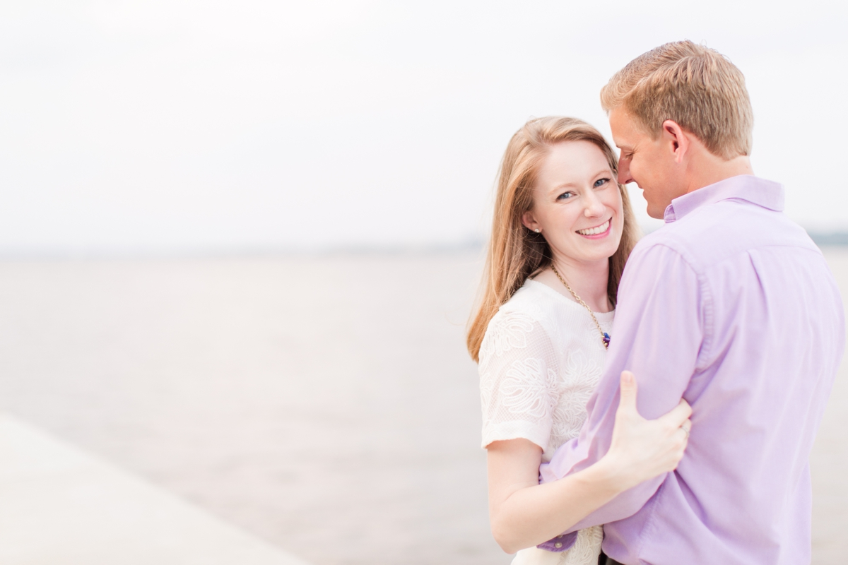 Downtown Alexandria Engagement Pictures on the Water with Lighthouse Photos_1538