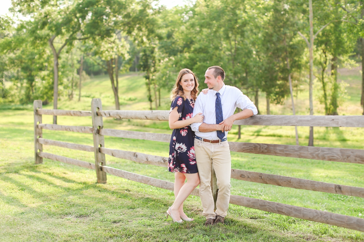Summer Bull Run Winery Engagement Photos_1770