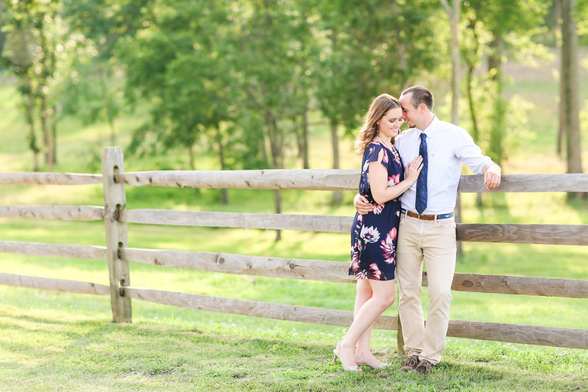 Summer Bull Run Winery Engagement Photos_1772