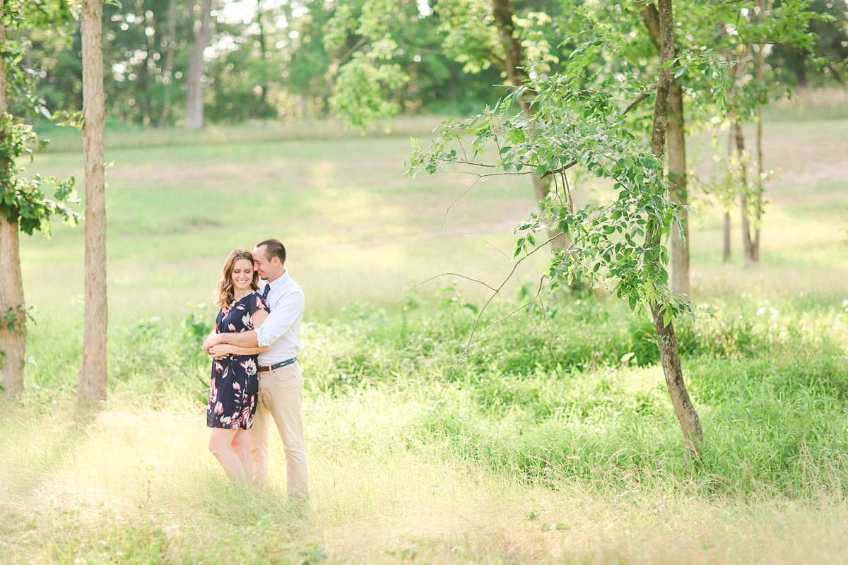 Summer Bull Run Winery Engagement Photos_1776