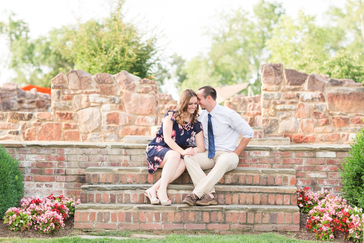 Summer Bull Run Winery Engagement Photos_1782