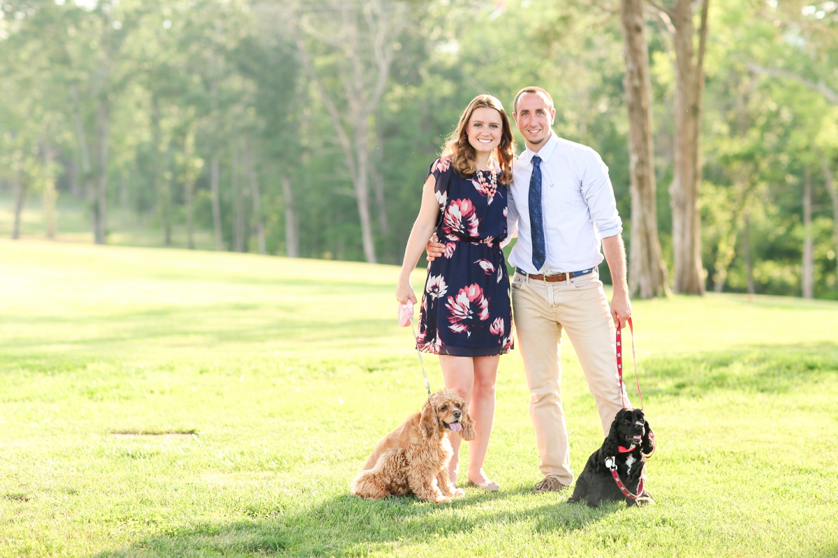 Summer Bull Run Winery Engagement Photos_1787