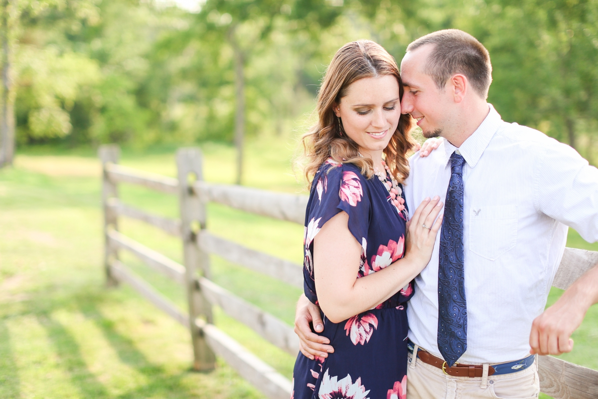 Summer Bull Run Winery Engagement Photos_1788