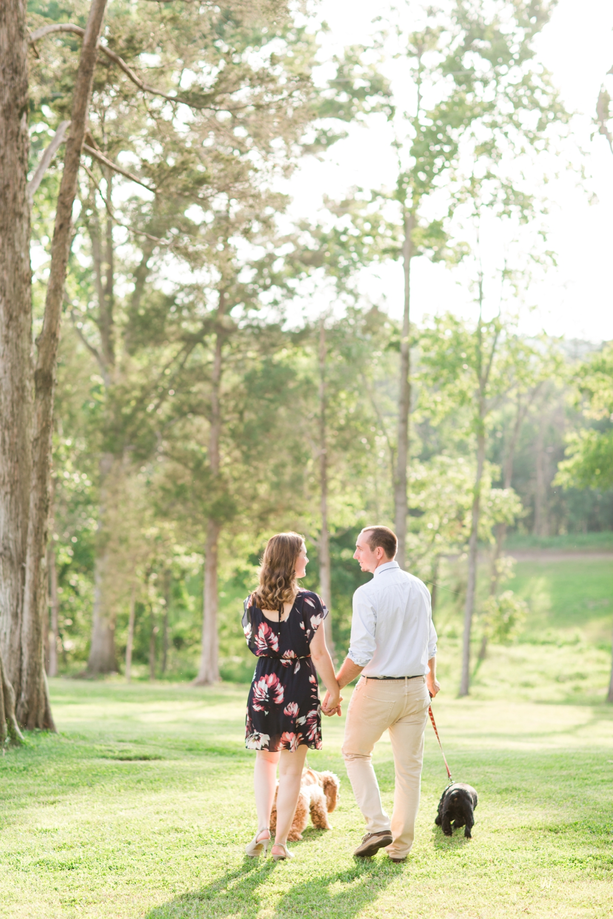 Summer Bull Run Winery Engagement Photos_1791