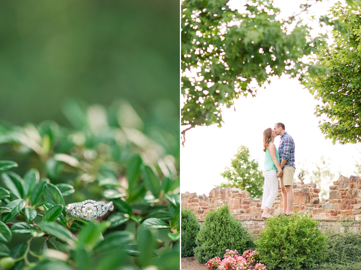 Summer Bull Run Winery Engagement Photos_1793