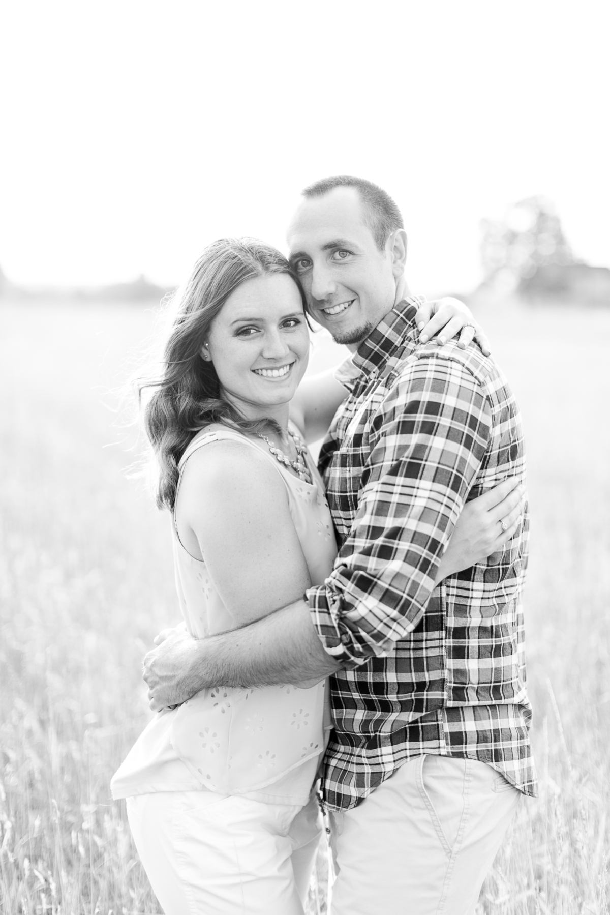 Summer Bull Run Winery Engagement Photos_1794