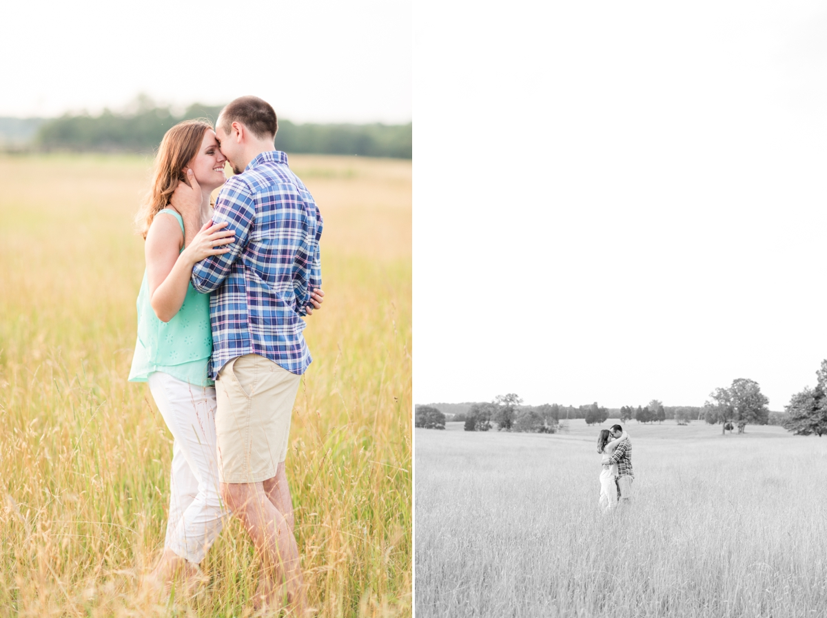Summer Bull Run Winery Engagement Photos_1796