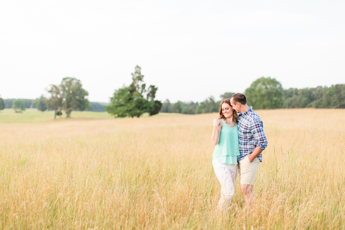 Summer Bull Run Winery Engagement Photos_1804