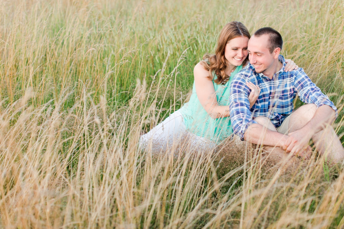 Summer Bull Run Winery Engagement Photos_1806