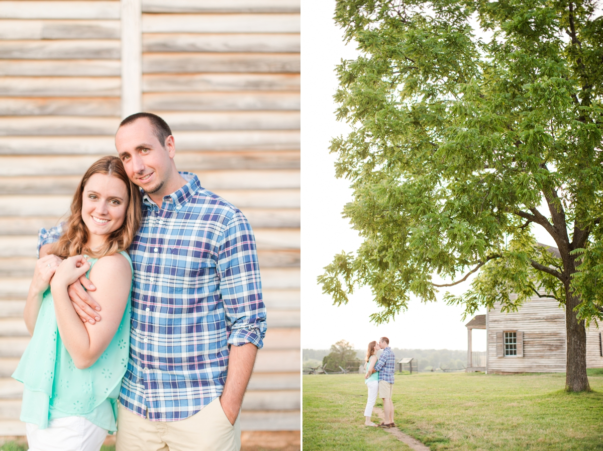 Summer Bull Run Winery Engagement Photos_1808