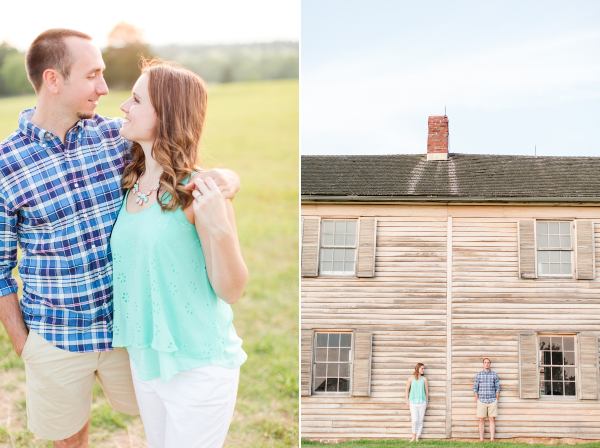 Summer Bull Run Winery Engagement Photos_1809