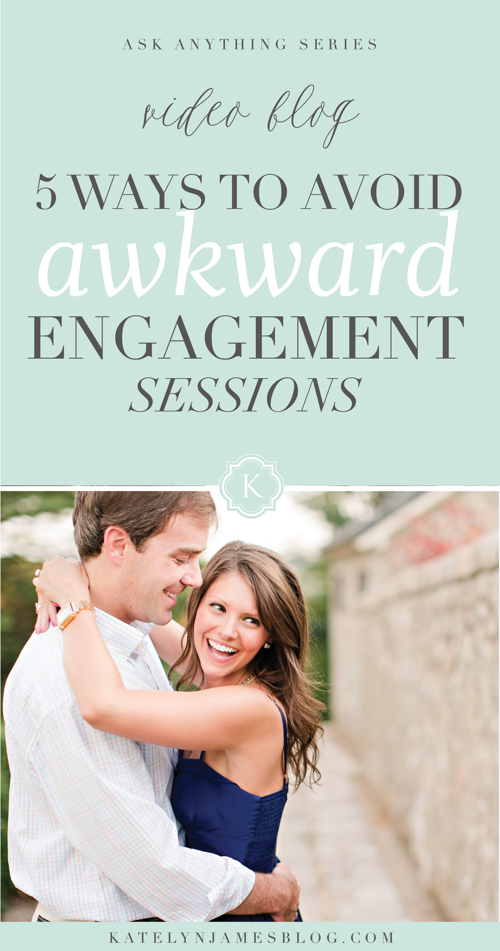 5 Things Wedding Photographers should Say When Starting An Engagement Shoot