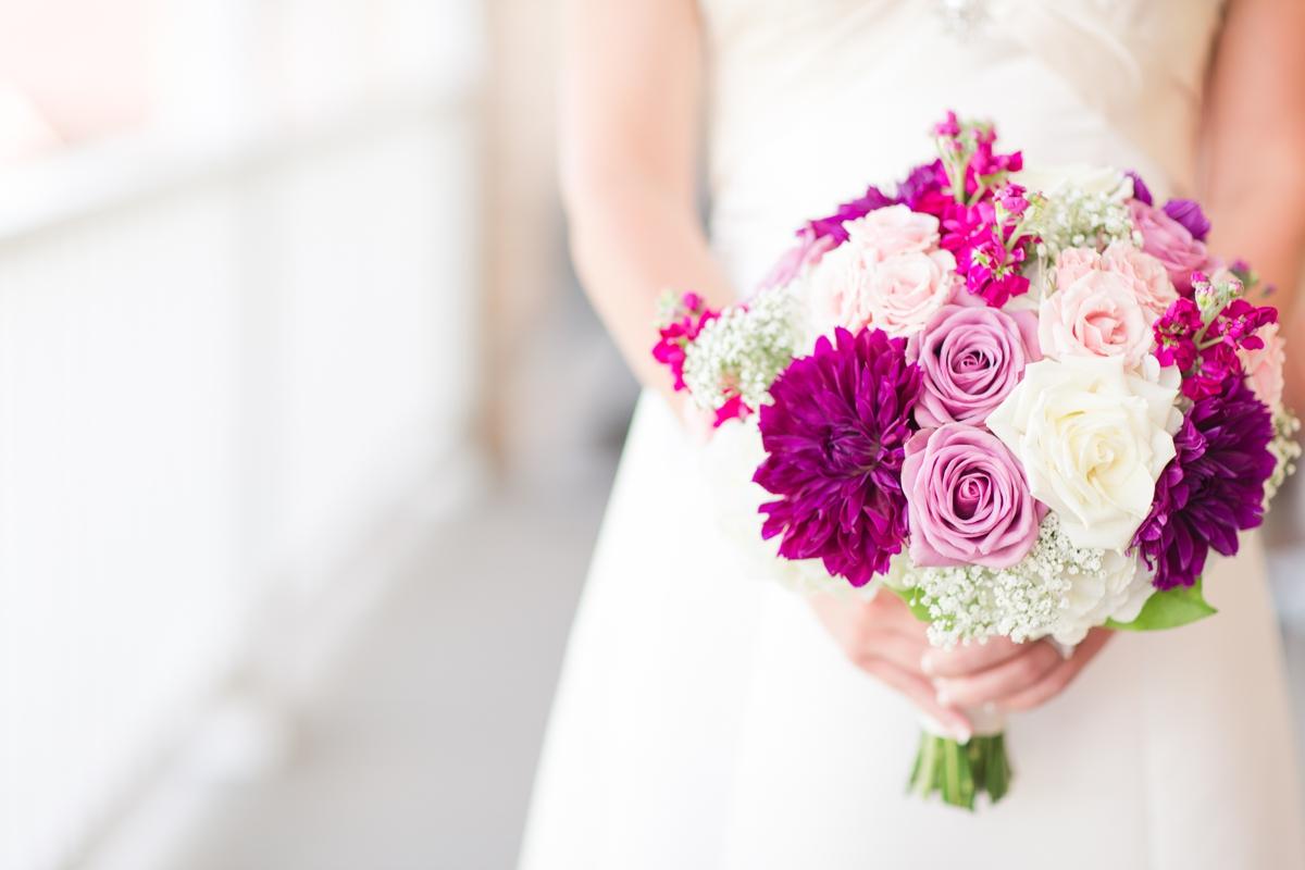 Sangria Color Toned Bridal Bouquet