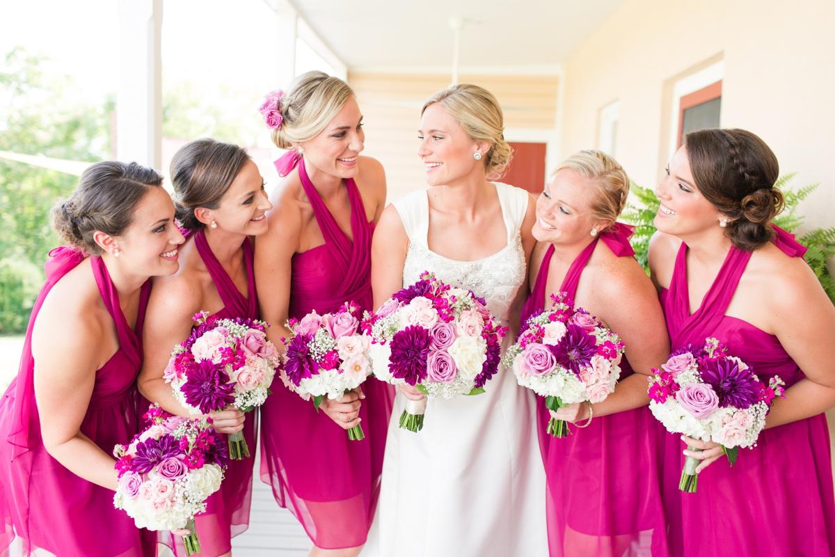 Sangria Toned Outdoor Summer Wedding