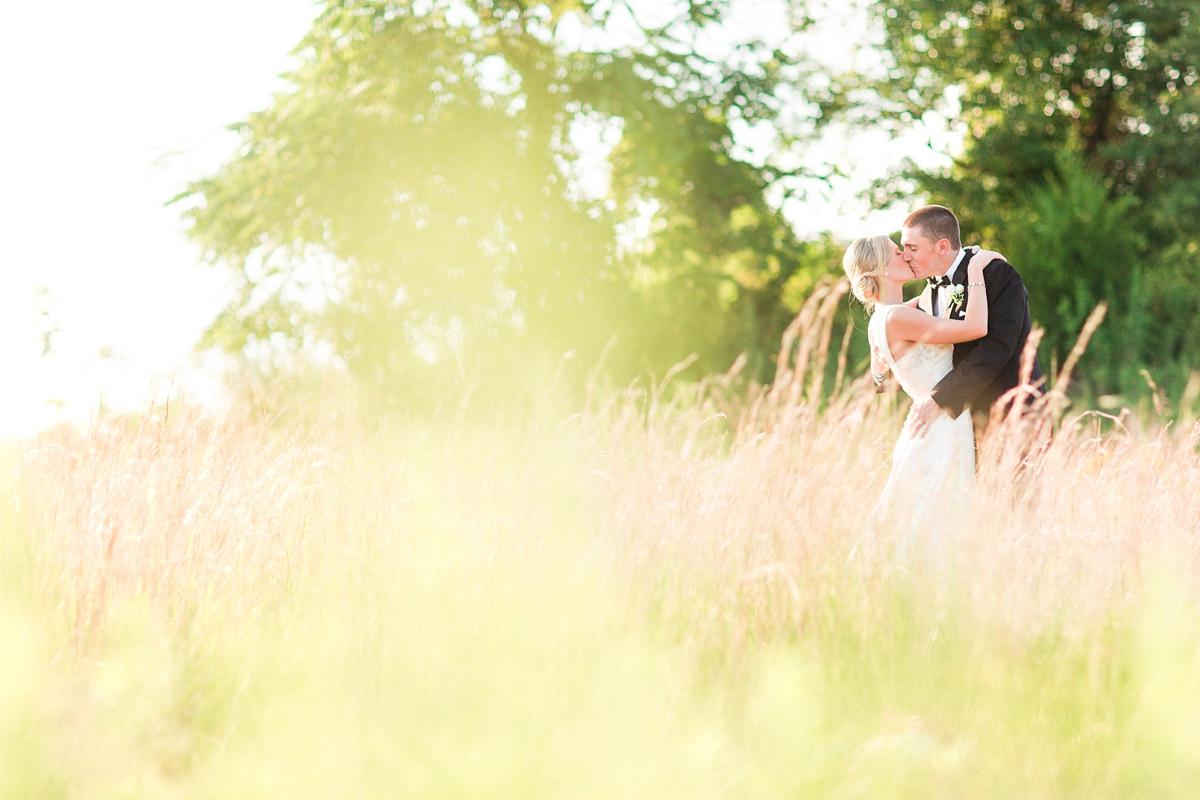 Bride and Groom Field Portraits. Riverside On the Potomac Barn Wedding Photos. DC Barn Wedding. DC Farm Wedding. Outdoor Ceremony, Indoor Reception.