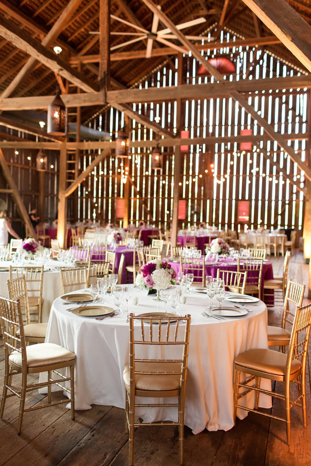 DREAM BARN WEDDING RECEPTION. Riverside On the Potomac Barn Wedding Photos. DC Barn Wedding. DC Farm Wedding. Outdoor Ceremony, Indoor Reception.