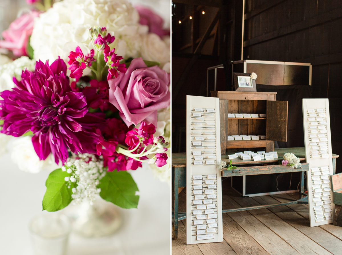 Barn Wedding Reception Details. Place Cards. Creative Wedding Seating Ideas