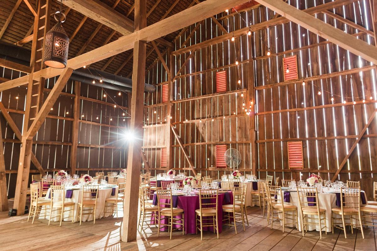 Barn Wedding Reception. Riverside On the Potomac Barn Wedding Photos