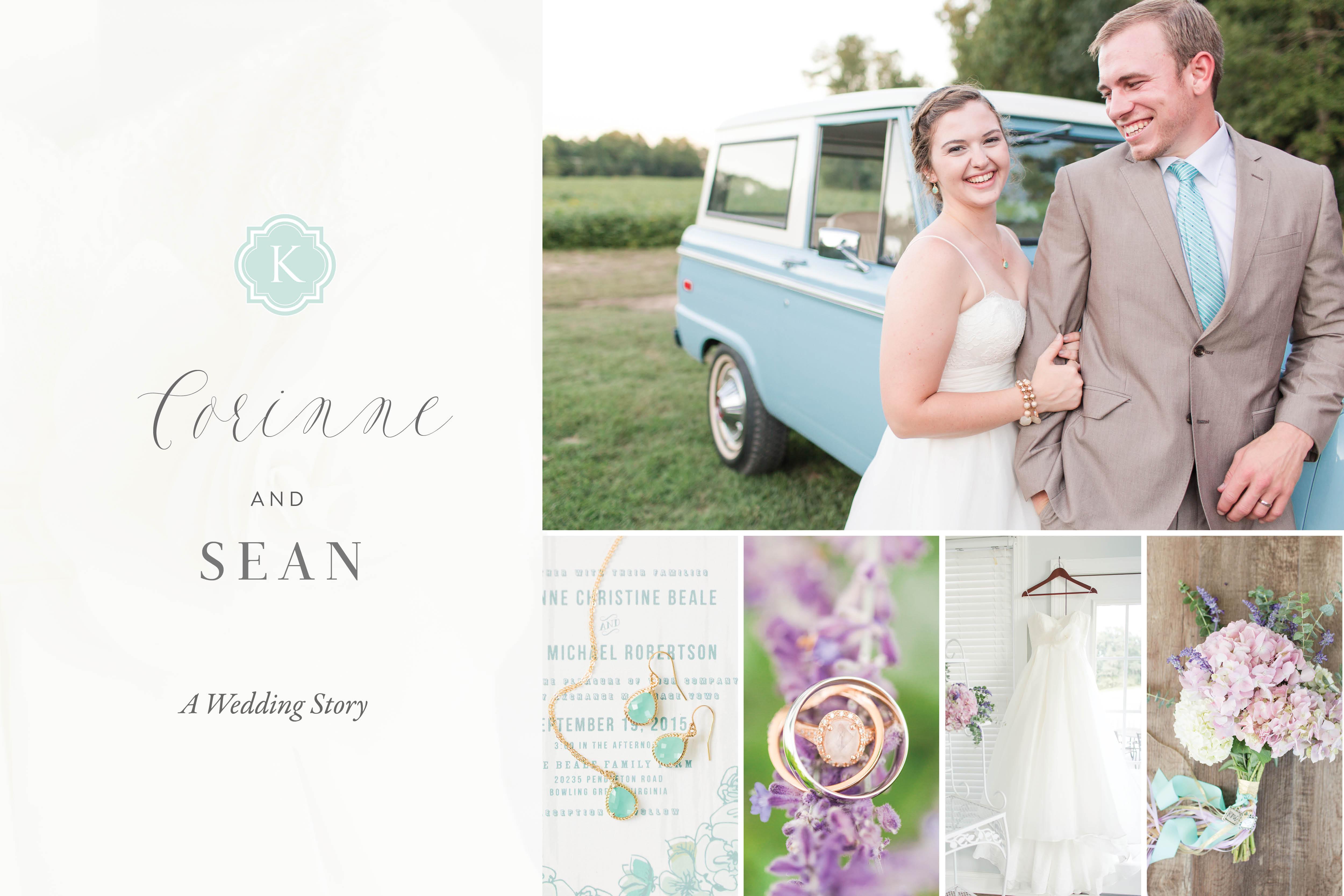 A Country Farm Wedding with Food Trucks Photo