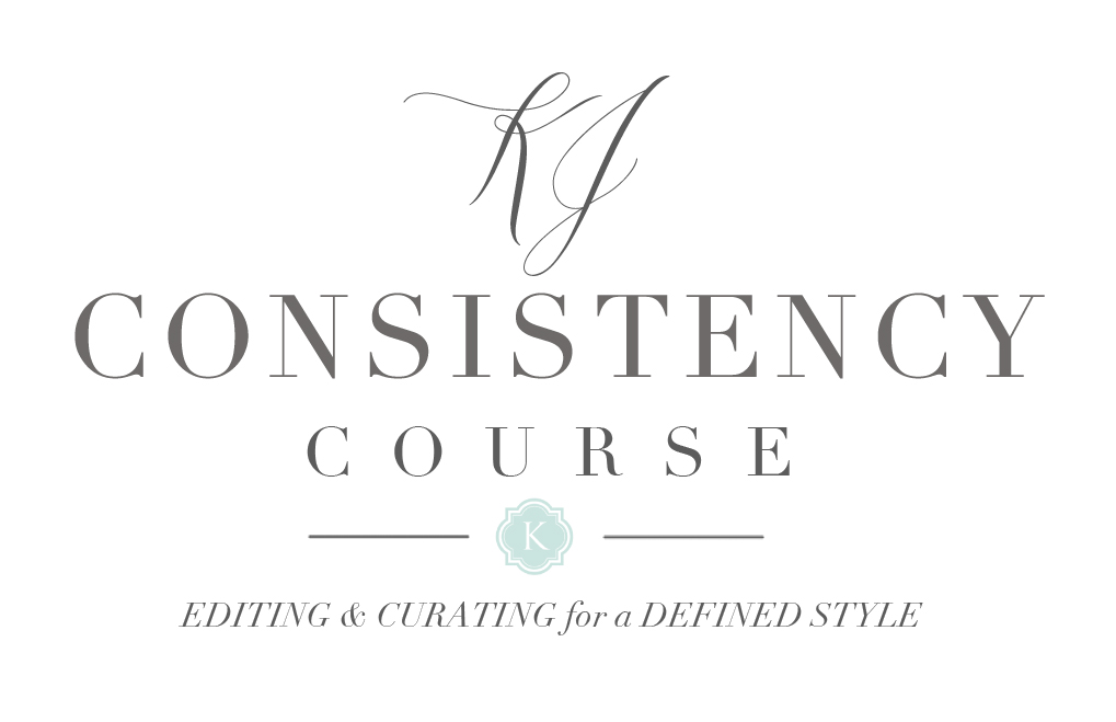 The 6 week, self-paced KJ Consistency Course | Editing & Curating for a Defined Style by Katelyn James Photography