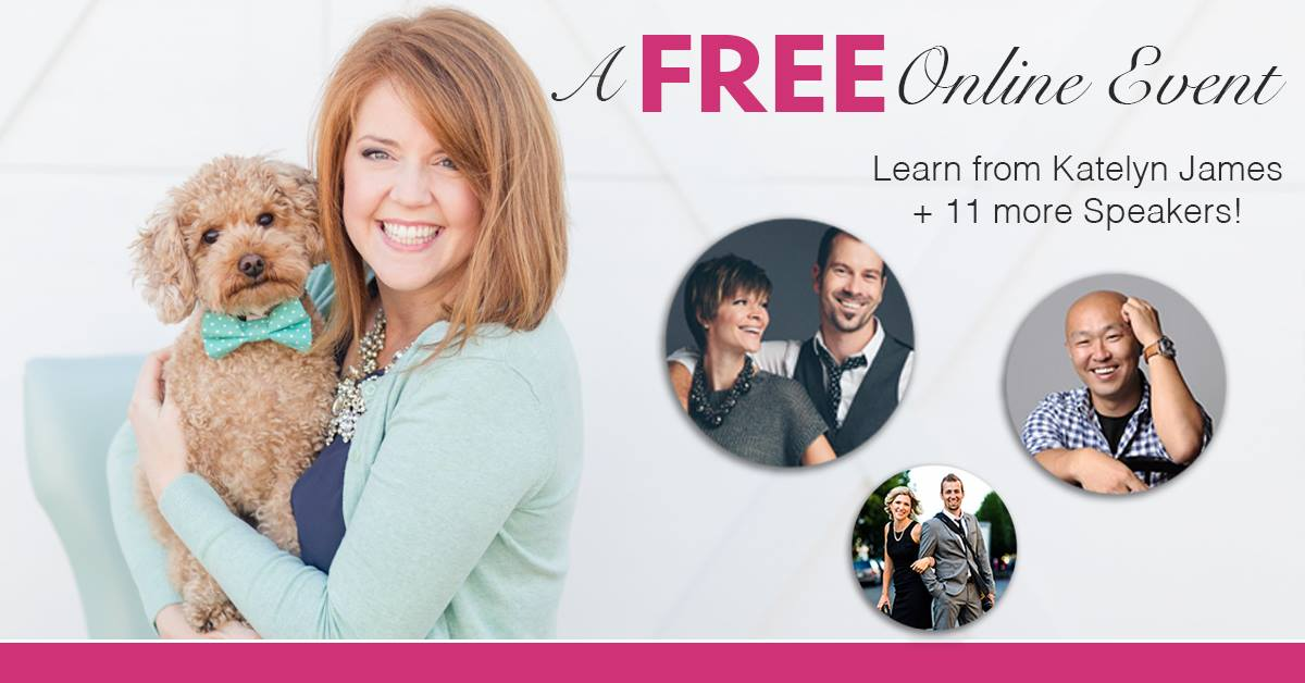 A Free Online Learning Event with Katelyn James