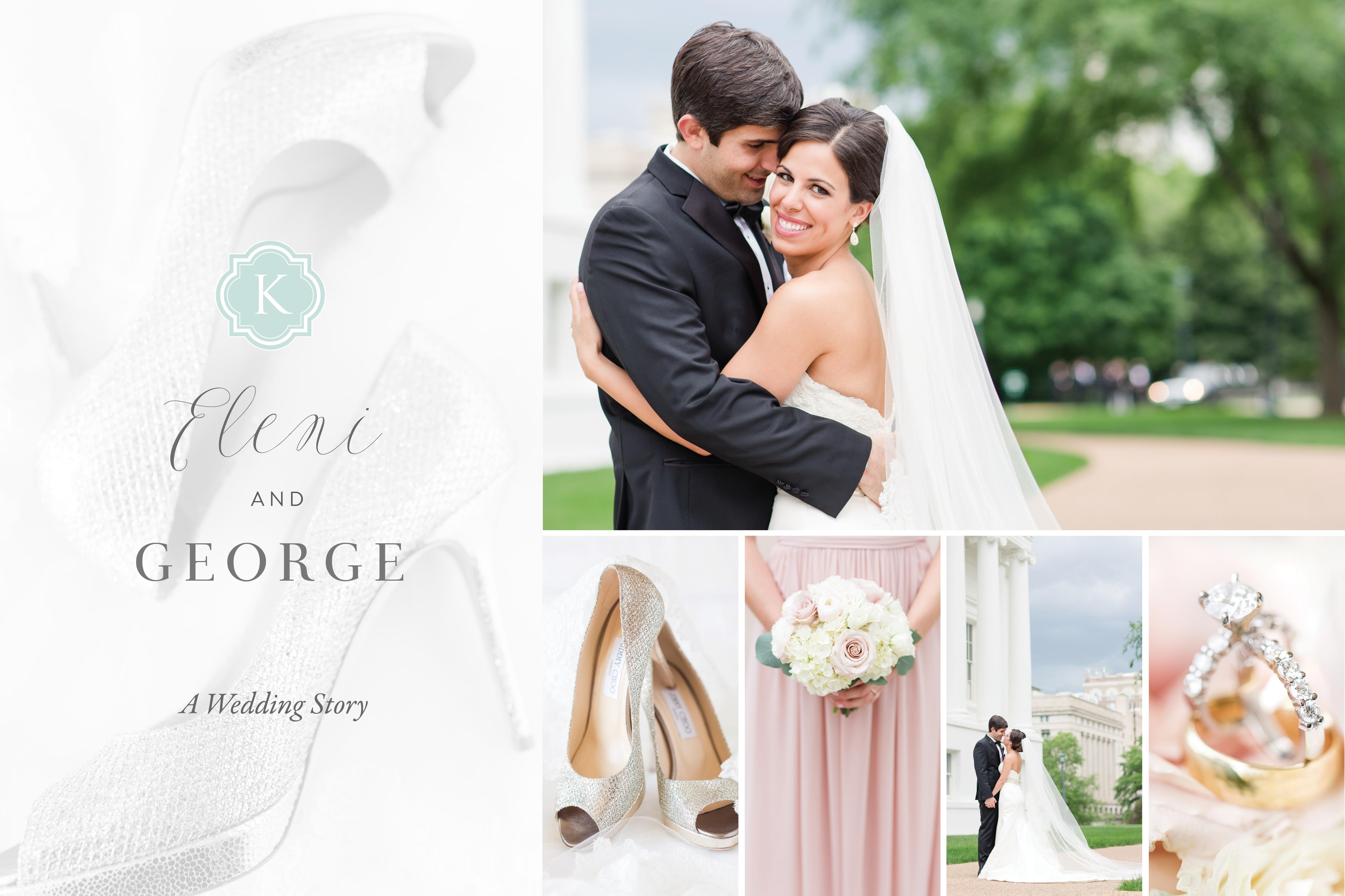 Omni hotel Greek Wedding Photos Richmond Virginia by Katelyn James Photography
