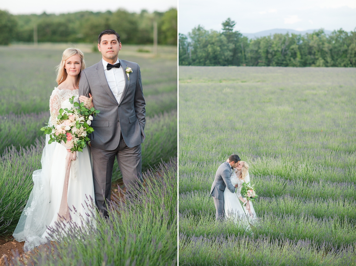 wedding portraits in frenchlavender fields in provence, Franve by photographer Katelyn James_1805