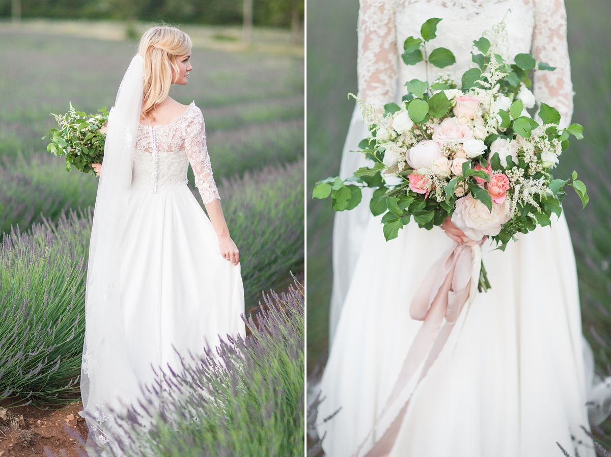 wedding portraits in frenchlavender fields in provence, Franve by photographer Katelyn James_1808