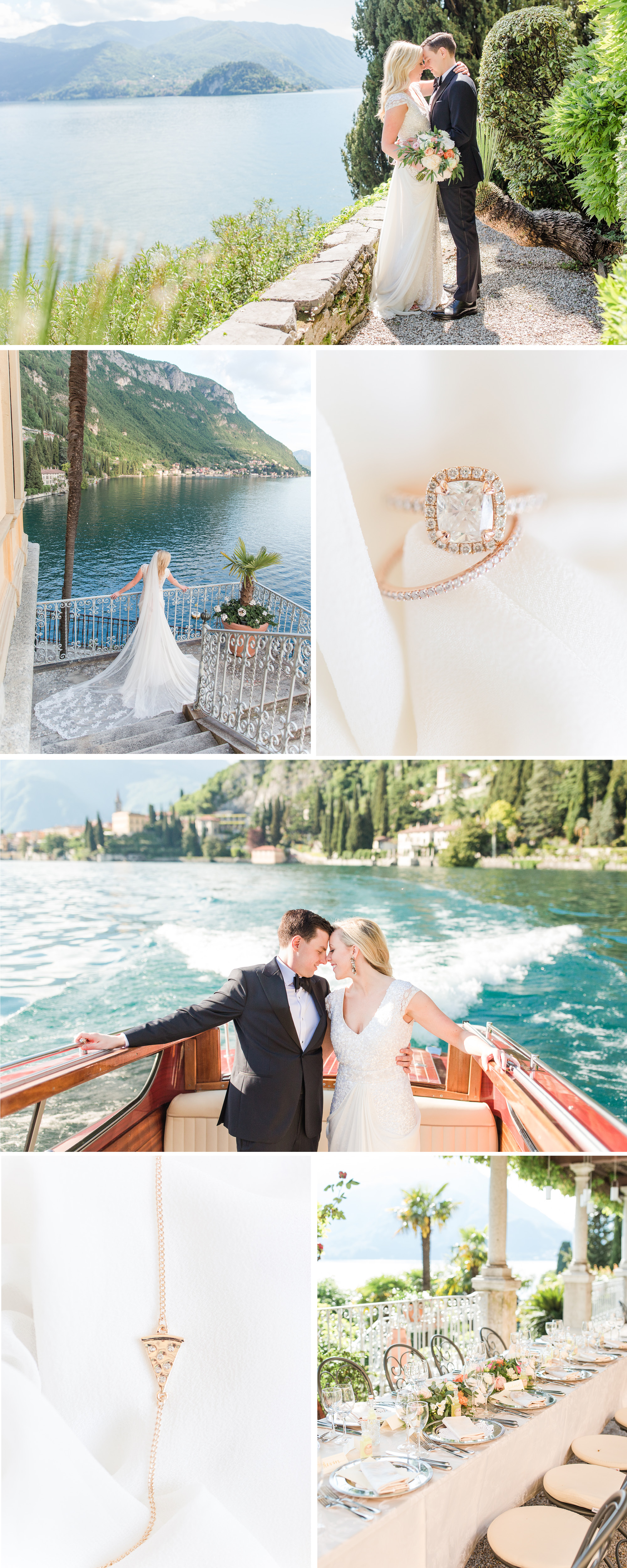 A Elegant European Inspired Lake Como Italy Destination Wedding by Katelyn James Photography
