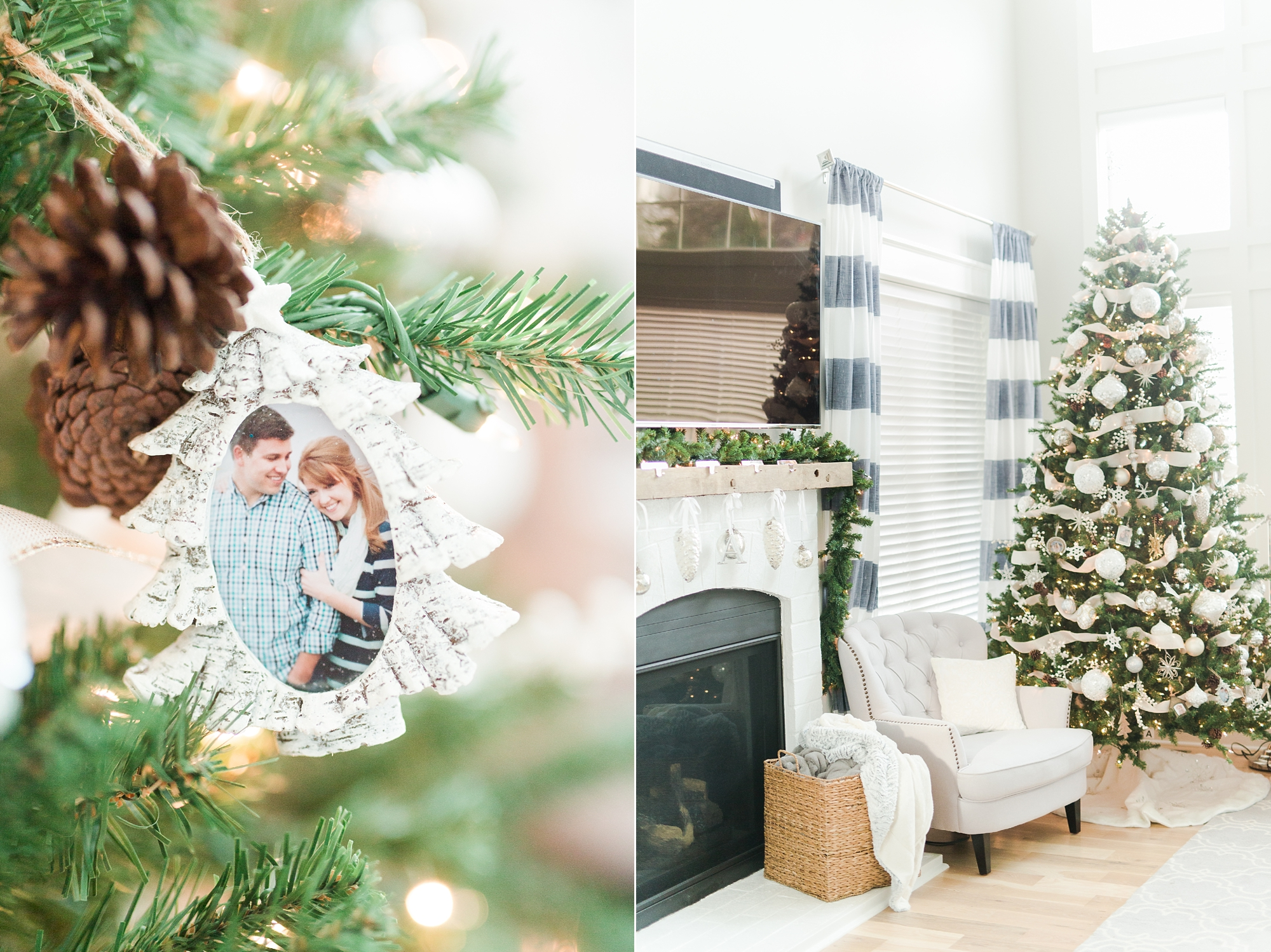 Christmas Decor Inspiration Virginia Wedding