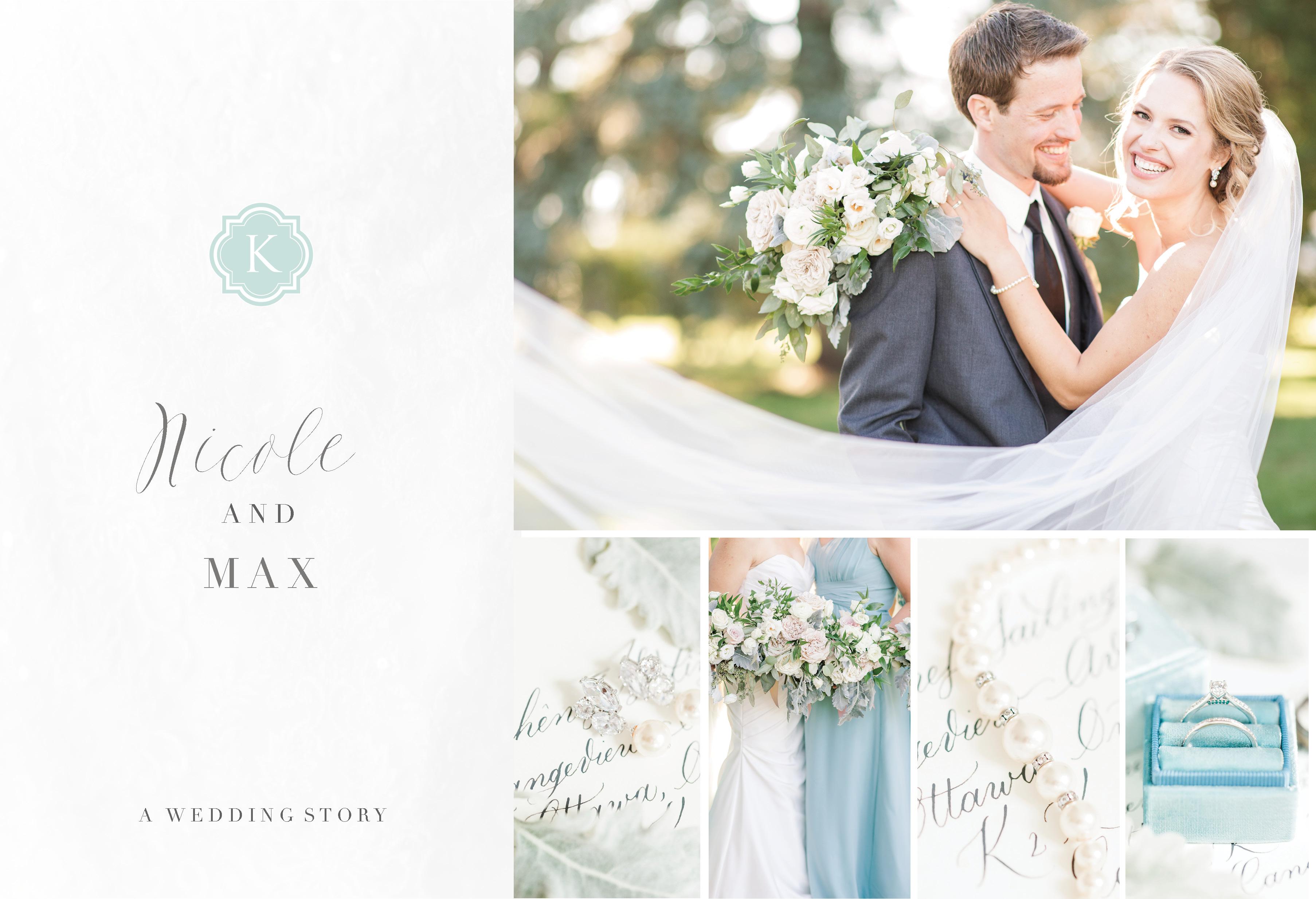 lakeside destination wedding photos