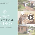 FREE TRAINING VIDEO : Three Tips for a Wedding Day
