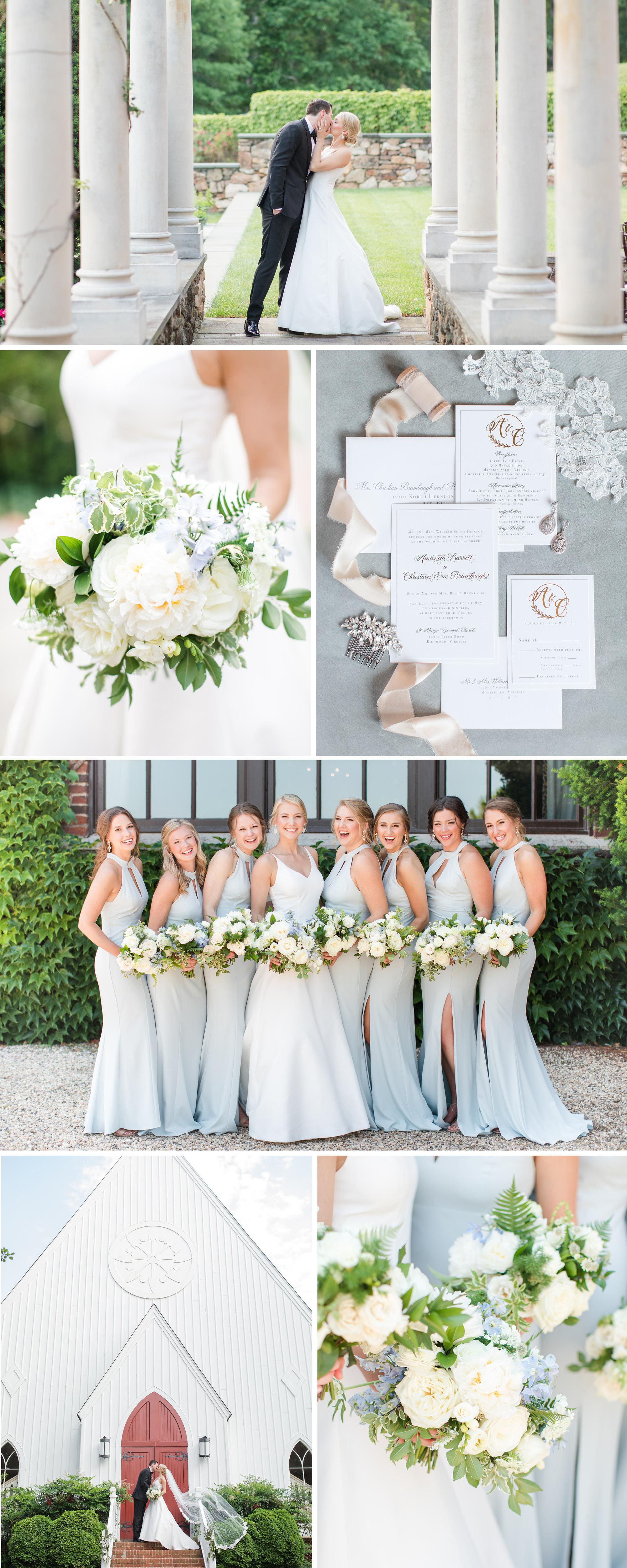 A Classic, Elegant Dover Hall Estate Wedding   Katelyn James Photography