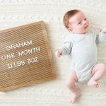 Graham's First Month