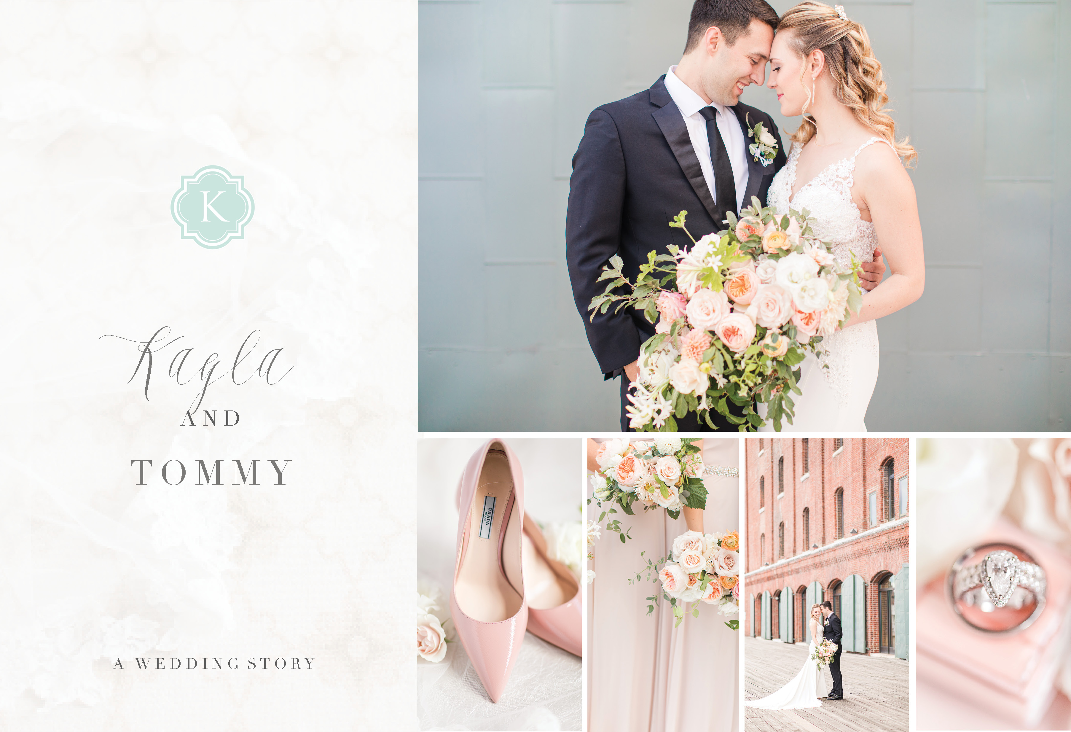 INDUSTRIAL DOWNTOWN BALTIMORE WEDDING