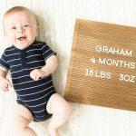 Graham's Fourth Month