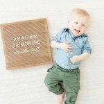 Graham's 12th Month