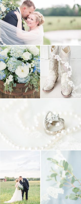 An Oakdale Rustic Slate Blue Barn Wedding in Ashland Virginia